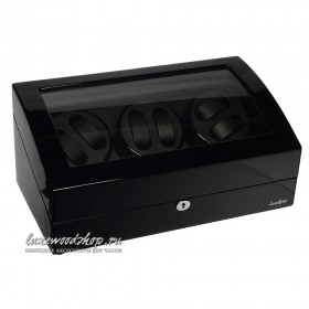 Шкатулка для автоподзавода часов LuxeWood LW038-11-3