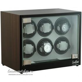 Шкатулка для автоподзавода часов LuxeWood LW506-5