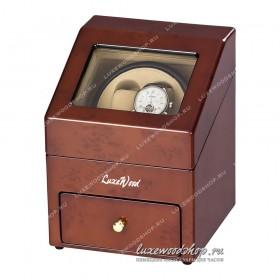 Шкатулка для автоподзавода часов LuxeWood LW621-3